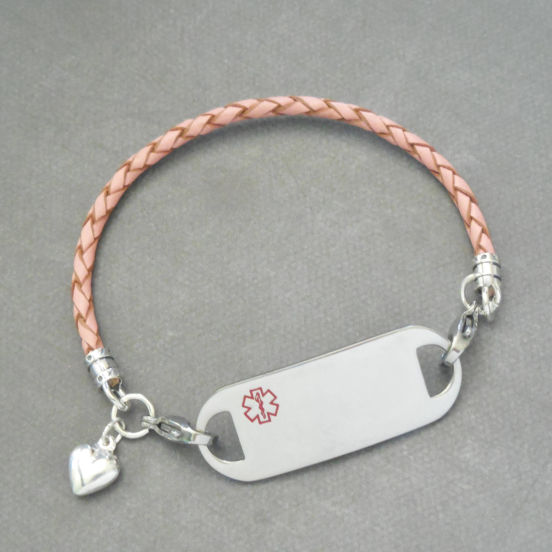 Girls ID Bracelet Kids Interchangeable ID Bracelet Girls