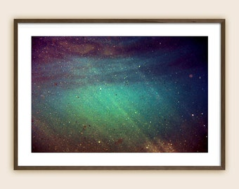 """Underwater Photography Print - Sea Photography - Ocean Photography - """"Meteor Shower"""""""