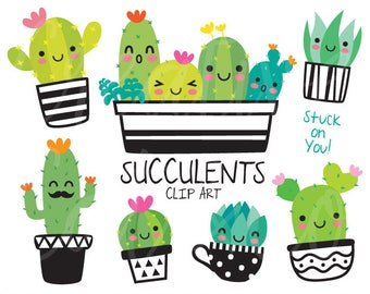 cactus clipart etsy rh etsy com how to do clip art in word how to do clip art on word