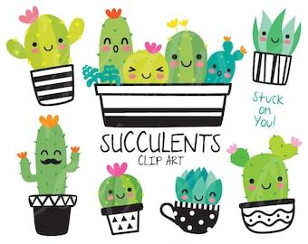 cactus clipart etsy rh etsy com cactus clip art images cactus clip art images