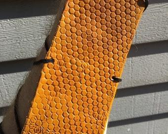 Yellow Honeycomb Pattern Archery Arm Guard