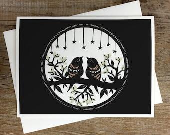 Moonlight Sonata - Greeting Card