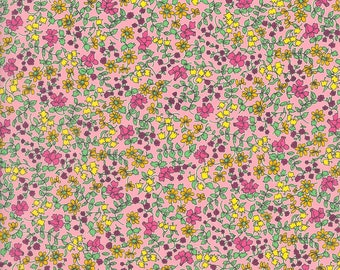 Liberty Tana Lawn - EMILIA'S BLOOM X, The Strawberry Thief Bespoke Collection, buy by the fat quarter/meter
