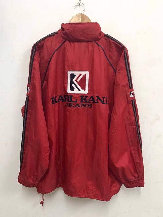RARE!! Karl Kani Big Logo Big Spellout Front And Back Embroidery Bright Color Kani Jeans Sweatshirt Jumper Sweater Hoodies Jacket Tshirt IHm2wiJLR