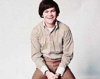 Vintage 1960s Micky Dolenz of The Monkees  Color Photograph— More Celebrity Photos available Too