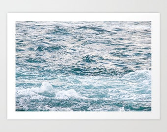 Waves Water Photography Print