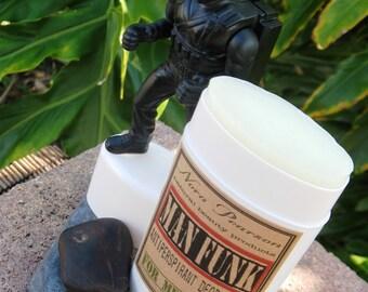 Man Funk All Natural Deodorant 2oz -Green Tea Blend