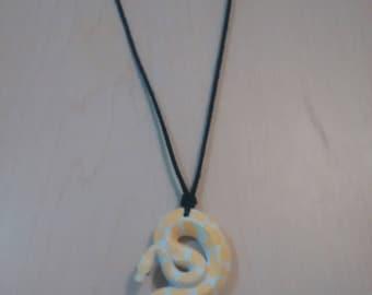 Handmade snake necklace