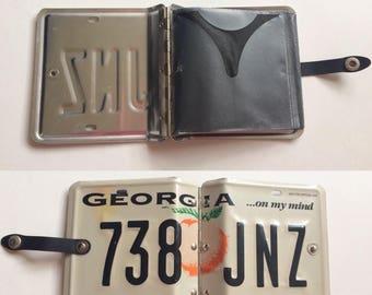 Vintage License Plate CD Holder