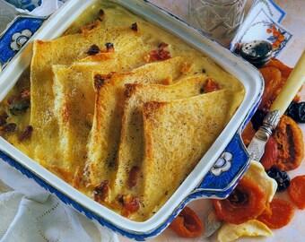 Recipes etsy instant pdf download vintage no effort dessert recipe to make a fruit medley bread pudding forumfinder Choice Image