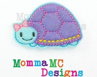 Turtle Felt Feltie Embroidery Design