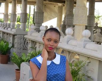 Tswana Collar Dress