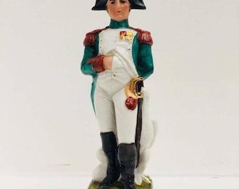 Napoleon Bonaparte Figurine, hand painted porcelain, Napoleon sculpture, gift man, christmas gift, gift for him, vintage porcelain figurine