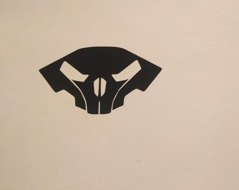 Raynor Skull Decal