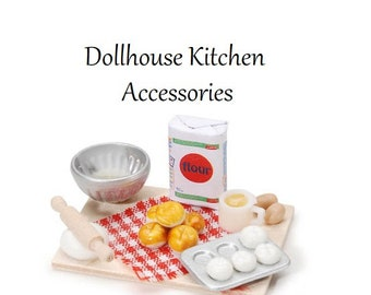 Baking Miniature, Dollhouse Minis