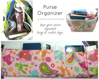 PDF Purse Organizer Pattern / Sewing Pattern / Digital Download / Easy Beginner and Intermediate Pattern / Organizer