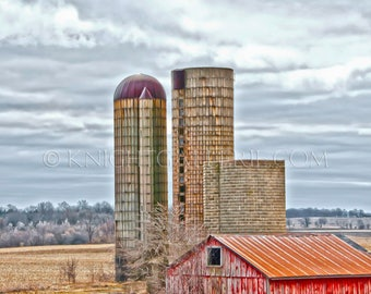 Classic Barn Image: Rural Wisconsin