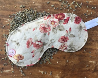 Lavender Sleep Mask, lavender aromatherapy, spa mask, sleeping mask, sleep mask for adults, blindfold, travel accessory, yoga accessory
