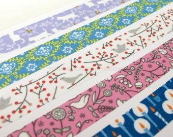 Pastel Color Washi Tape, Masking Tape, NICHIBAN Petit joie washi tape