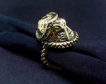 Octopus Ring Adjustable Jewelry