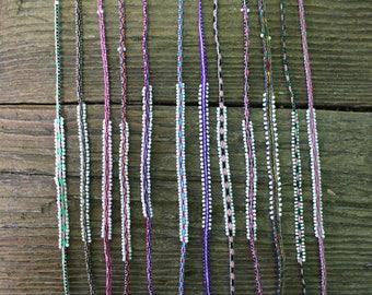 Unique Stranded Handwoven Peruvian Multiwrap Bracelet