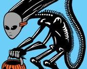 Trick Or Treat Alien Scre...