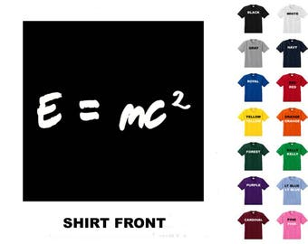 E=MC2 #1 T-shirt Free Shipping