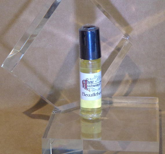 Essential oil Perfume, personal roll on essential oil fragrance, Bewitched fragrance, magical and hypnotic scent in essential oil perfume
