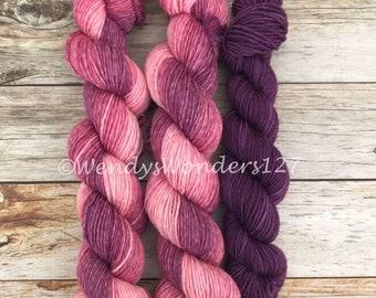 Sock Yarn, Gradient sock yarn, Sock Yarn Set, Toe/Heel Sock Yarn,  Hand Dyed Yarn, For Sock Knitting, Yarn Set, MCN