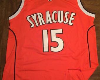 Carmelo Anthony Syracuse Orange Large adult jersey Thunder ~