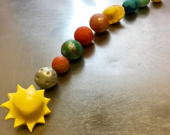 Planets / Solar System Cake Toppers