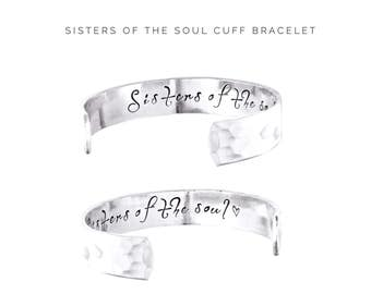 Friends Gift | Soul Sisters Jewelry | Friendship Gift | Womens gift  | Gifts for Her | Sisters of the Soul | Personalized Jewelry (C085)