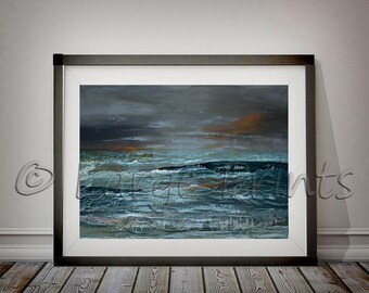 Ocean Ocean Art Coastal Decor Ocean Waves Seascape Wall Art Print Ocean Water Large Printable PosterPhotography & Seascape wall art | Etsy