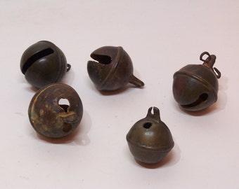 antique brass horse bells, riding bells
