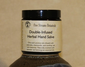 Double-Infused Healing Hand Salve, 4 ounce