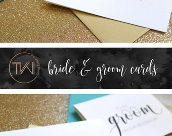 To My Groom on Our Wedding Day Card - Groom Card - Groom Gift - Gift from Bride