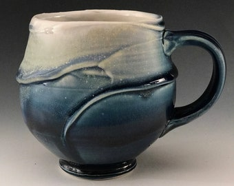 Lavender  Blue Textured Cup