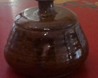Jar- Speckled brown