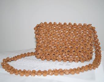 Vintage 1960s Beaded Handbag