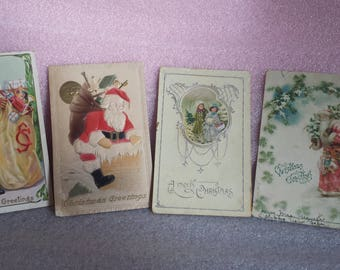 Vintage Christmas postcards, Germany