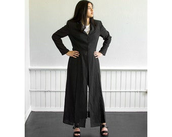 80s XXtra Long Blazer / Fits up to a Large