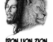 Bob Marley -A3 Size Poste...