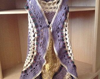 Mandala  sun vest crochet