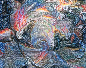 Psychedelic Blotter Art Print perforated sheet 900 hits Acid Free paper