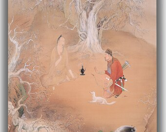 Hashimoto Kansetsu: Spring Day. Fine Art Canvas. (04062)