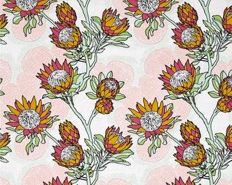 54063 - Joel Dewberry Cali Mod   Protea in Cactus color - 1/2 yard