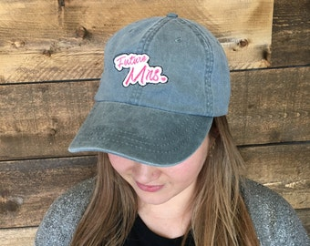 Embroidered Future Mrs dad hat