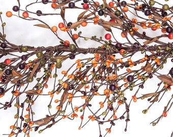 FREE SHIPPING!! - Pip Berry Garland-Mixed Berry Garland-Primitive Garland--Primitive Decor--Rustic Decor