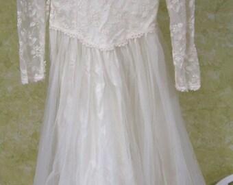 Vintage Alfred Angelo Wedding Dress 12