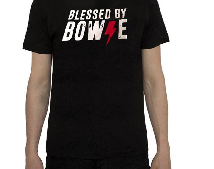 David Bowie T-shirt- 3 options colours Blessed by David Bowie